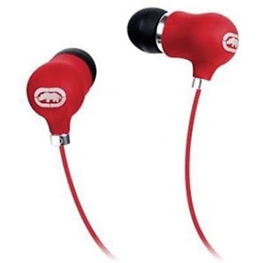 Mizco Ecko Bubble Earbud, Red