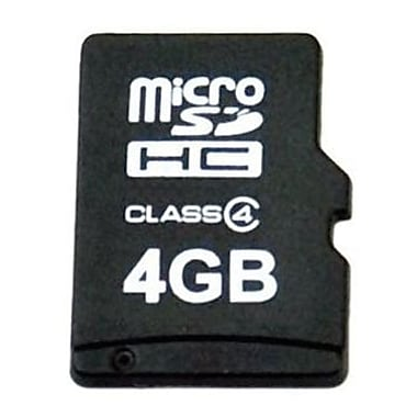 EP Memory EPSDHCM Micro Secure Digital Flash Memory Card, 4GB