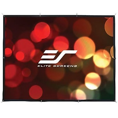 Elite Screens™ SableFrame Series 135in. Wall Mount Projector Screen, 16:9, Black Aluminum Casing