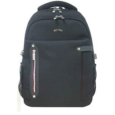 Eco Style ETPR-BP16-CF Tech Pro Backpack For 16.4in. Laptops, Black/Red