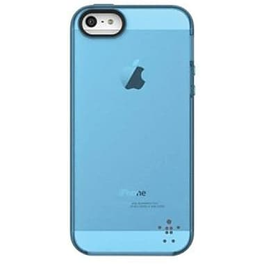 Belkin® Grip Candy Sheer Case For iPhone 5, Overcast/Civic Blue