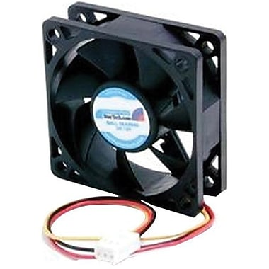 Startech.com® FAN6X2TX3 Ball Bearing Computer Case Fan With TX3 Connector, 4500 RPM