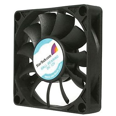 Startech.com® FAN7X15TX3 Ball Bearing Computer Case Fan With TX3 Connector, 3500 RPM