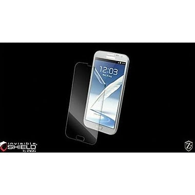 Zagg® InvisibleSHIELD™ FFSAMGALNOTTWOS Screen Protector For Samsung Galaxy Note II Smartphone