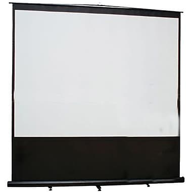 Elite Screens™ Reflexion Series 100in. Pull Up Tabletop Portable Projector Screen, 16:9, Black Casing