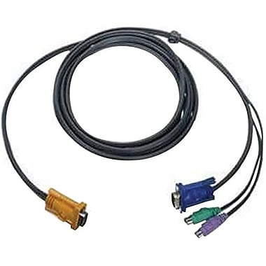 Iogear® G2L5202PTAA PS/2 Bonded KVM Cable, 6'