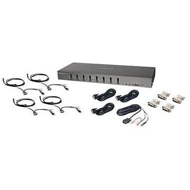 Iogear® GCS1108KIT2 USB/DVI KVMP Switch, 8 Ports
