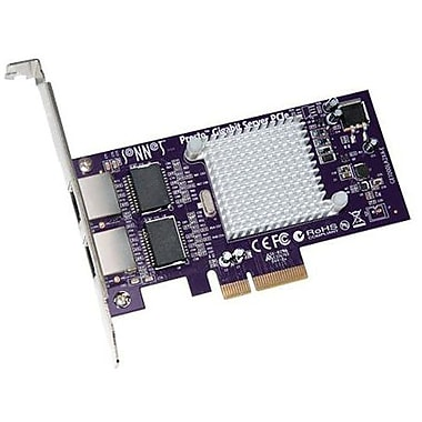 Sonnett Technologies™ GE1000LA2XA-E Gigabit Server Network Adapter