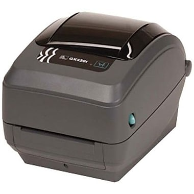 Zebra Technologies® GX430 TT 300 dpi Desktop Printer 7 1/2in.(H) x 7.6in.(W) x 10in.(D)