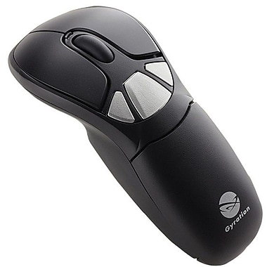 Gyration GYM1100FKNA Air Mouse GO Plus With Low Profile Keyboard