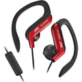 JVC HAEBR80 Sports Clip Headphone, Red
