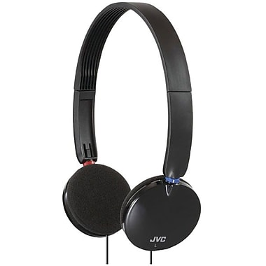 JVC HAS140 On Ear Headband Headphone, Black
