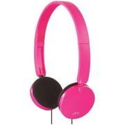 JVC HAS140P Stereo On-Ear Headband Headphone, Pink