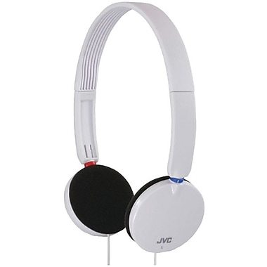 JVC HAS140 On Ear Headband Headphone, White
