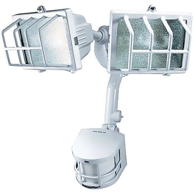 Chamberlain® Heath/Zenith 270 deg Journeyman Motion Sensing Security Light, White Finish