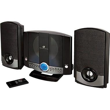 GPX® HM-3817DT Micro Hi-Fi System, Black