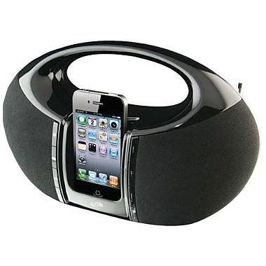 iLive™ IBP182B Portable Boombox For iPhone/iPod