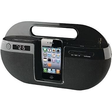 iLive™ IBP391B App-Enhanced Boombox For iPhone/iPod