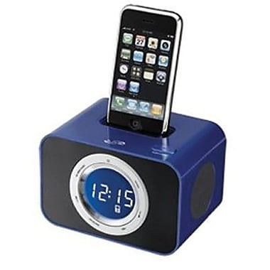 iLive™ ICP211BU Clock Radio For iPhone/iPod