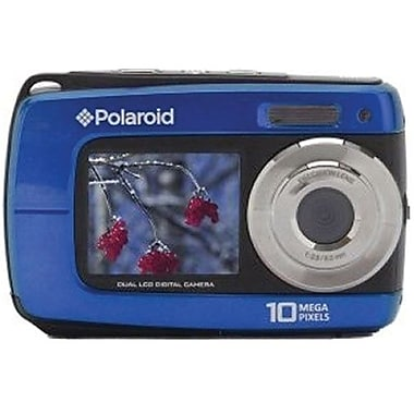 Vivitar IF045 2 1/2in. H x 4in. W x 3/4in. D Blue Still Digital Camera, 14 Mega Pixels