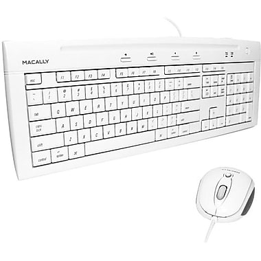 macally™ IKEY5COMBO Slim Keyboard & Optical Game Mouse Combo