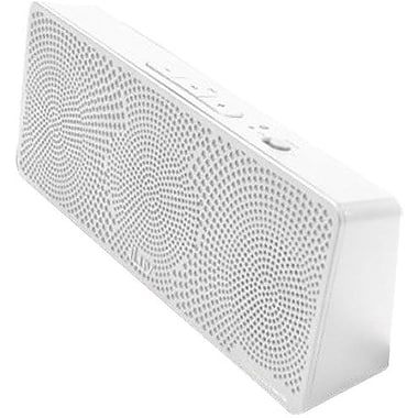 iLuv® ISP202WHT MobiTour Portable Wireless Stereo Speaker For Bluetooth-Enabled Devices