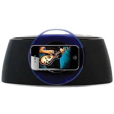iLive™ ISP301B Speaker System With Rotating Dock For iPhone/iPod