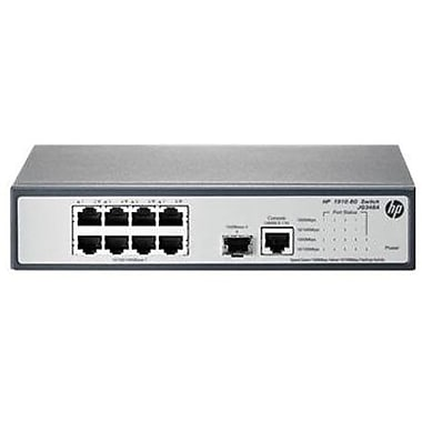 HP® Managed Ethernet Switch, 8 Ports (JG348A#ABA)
