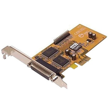 Siig® JJ-E02011-S1 CyberParallel Dual PCIe Hi-Speed Parallel Adapter