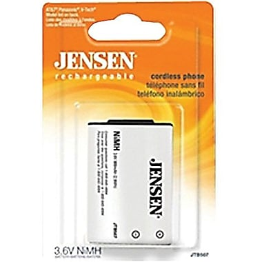 Jensen® JTB507 800 mAh Ni-MH Cordless Phone Battery For AT and T, Panasonic and V-Tech