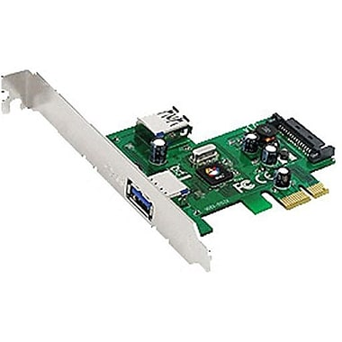 Siig® JU-P20512-S1 2 Port PCIe Host Adapter With Super Speed USB 3