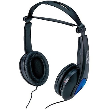 Kensington® K33084 Headphone, Black
