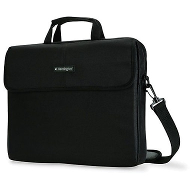 Kensington® Simply Portable 10 62562 15.4in. Classic Notebook Sleeve, Black