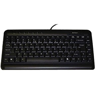 Ergoguys KL-5BLK A4Tech Slim Multimedia Keyboard