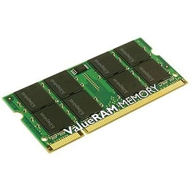 Kingston® KTD-INSP6000B/1G DDR2 SDRAM (200-Pin SoDIMM) Memory Module, 1GB