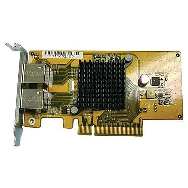 QNAP® LAN-1G2T-D Gigabit Network Expansion Card For TSX79 Tower Model