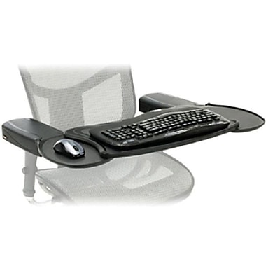 Ergoguys Mobo® MECS-BLK-001 Chair Mount Ergo Keyboard and Mouse Tray