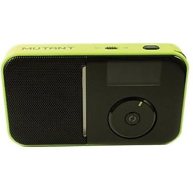 Mutant™ M-Wavio Pocket Internet and FM Radio, Charcoal