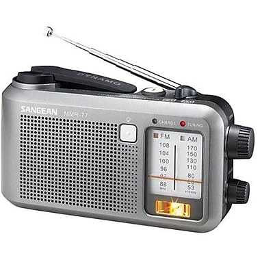 Sangean MMR-77 Emergency Radio Tuner, Dark Gray