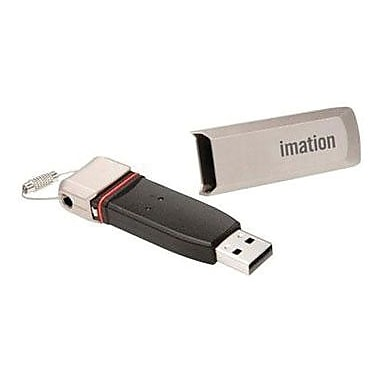 Imation IronKey™ M550 MXI Stealth Key USB 2.0 Flash Drive, 4GB