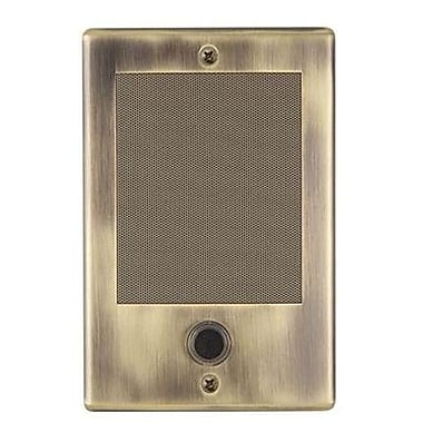 NuTone® NDB300AB Intercom Door Station, Antique Brass