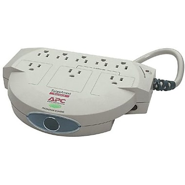 APC® SurgeArrest NET8 8-Outlet 1120 Joule Surge Suppressor With 6' Cord