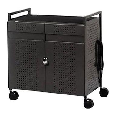 Bretford® NETBOOK32 Mobile Laptop Storage Cart