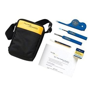 Fluke Networks® NFC-KIT-CASE-E Enhanced Fiber Optic Cleaning Kit