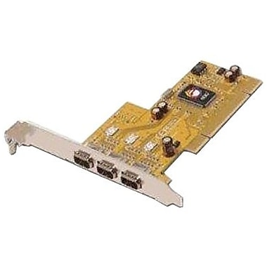 Siig® NN-300012-S6 3 Port 32-bit PCI FireWire Adapter Card