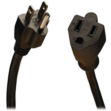 Tripp Lite SJT Power Extension Cord, 16 AWG, 15 ft (L)