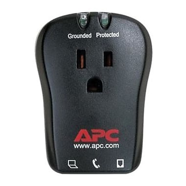 APC® SurgeArrest 1-Outlet 320 Joule Surge Protector With Phone Line Protection