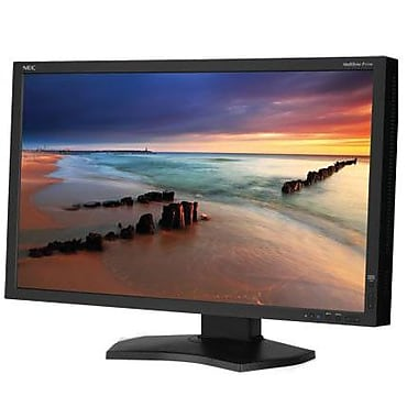 NEC 1920 x 1080 P232W-BK 23in. Widescreen Professional Graphics LED-LCD Desktop Monitor