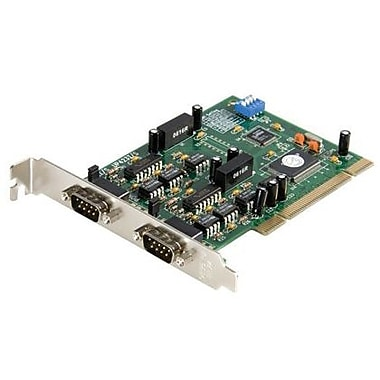 Startech.Com® PCI2S422ISO 2 Port PCI Standard Profile Serial Adapter Card
