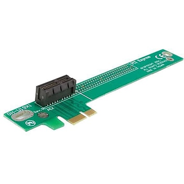 Startech.com® PCIE1RIS PCI Express x1 Left Slot Riser Adapter Card For Low Profile System